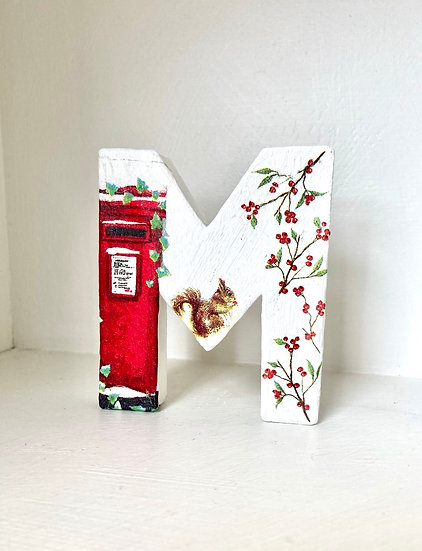 XMAS Decoupage Kits -  getting ready for posting!