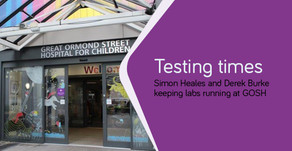 Testing times - maintaining specialised laboratory testing under COVID-19