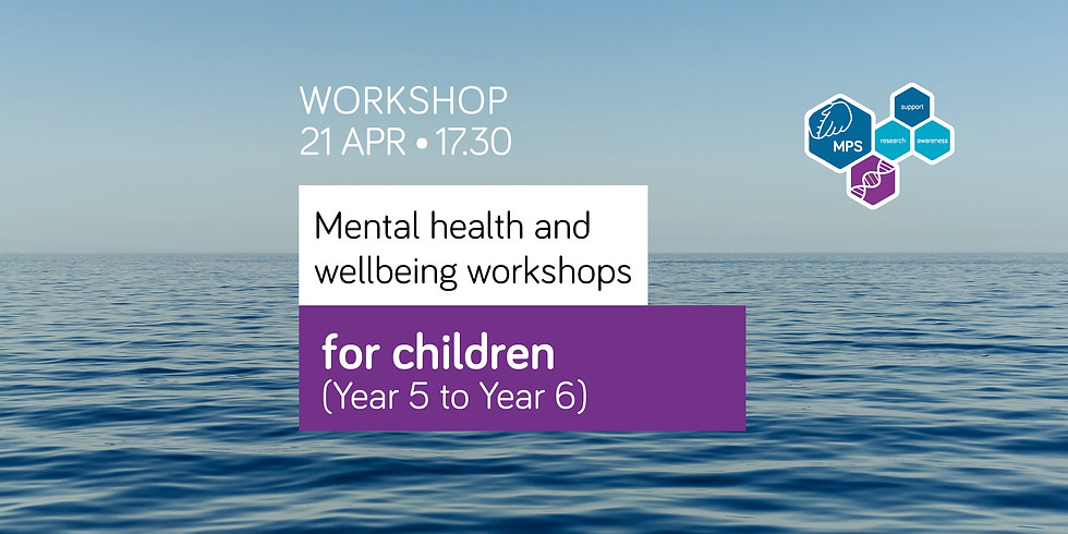 Mental health and wellbeing workshop for children (Year 5 to Year 6)