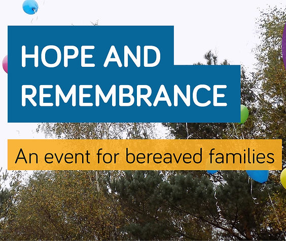 Virtual bereaved event banner artwork_we