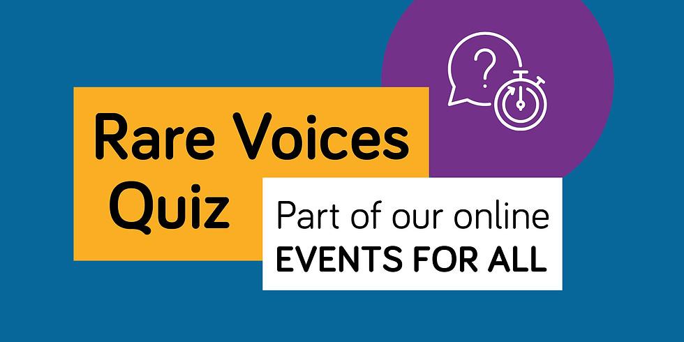 Rare Voices Quiz