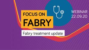 Focus on Fabry: Fabry treatment update webinar