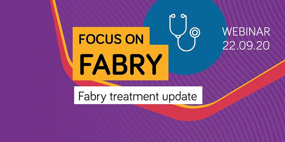 Fabry treatment update webinar