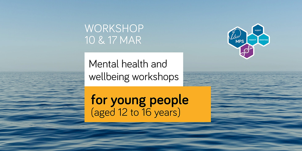 Two day mental health and wellbeing workshop for young people (12-16 yrs)