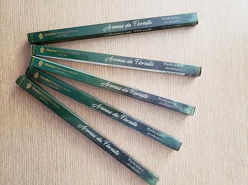 Incensos Aromas da Floresta (5 Caixas com 8 varetas)