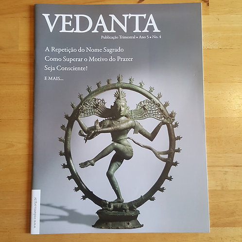 Revista Vedanta (Assinatura 1 ano ou 2 anos)