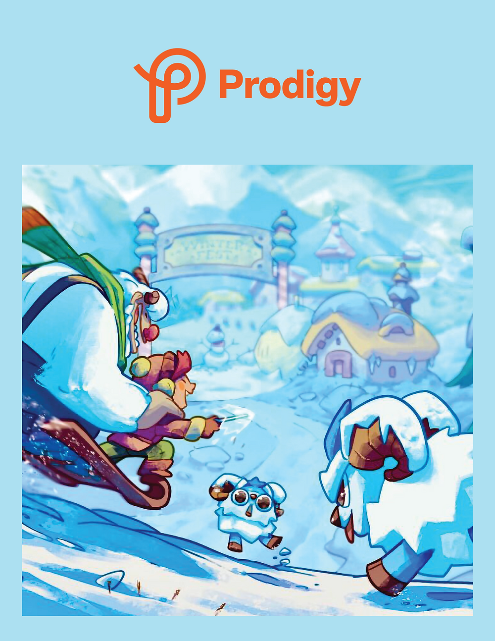 Characters and a scene from Prodigy