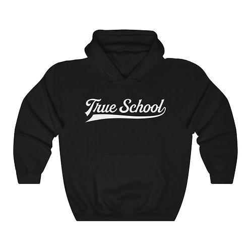 Classic Black Hoodie - True School