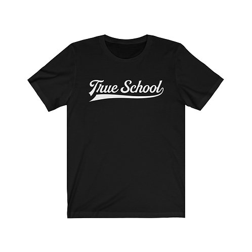 Casual Black  Short Sleeve - True School