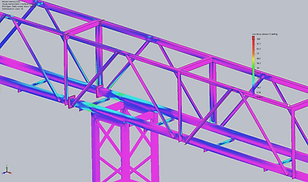 oStructural design and analysis which is accompanied Work Health and Safety design compliance and safety certifications, overseen by a REPQ registered engineer.