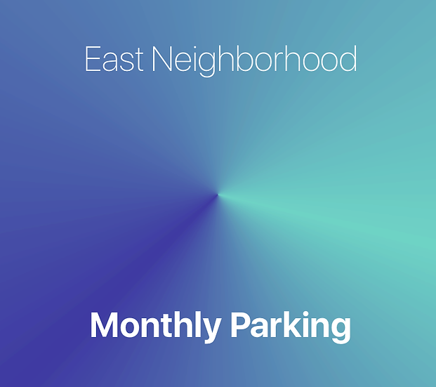 East Campus - Monthly Parking