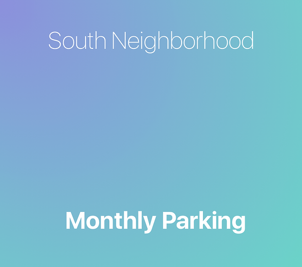 South Campus - Monthly Parking