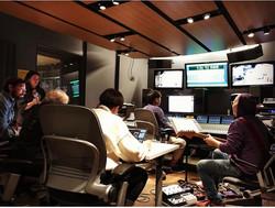 Recording in Dolan studio