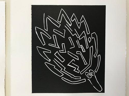 Black Tjitcata Print