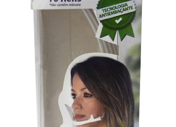 Refil Para Clear Mask - Máscara Protetora Salivar C/ 10Un