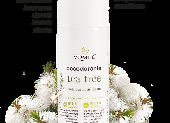 Desodorante Corporal Tea Tree - Vegana