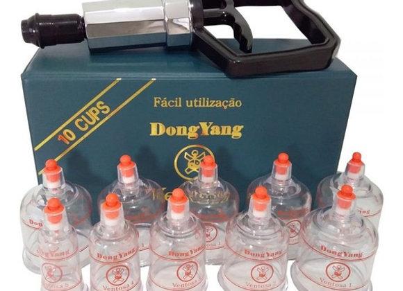 Kit Ventosa com 10 copos - Dong bang