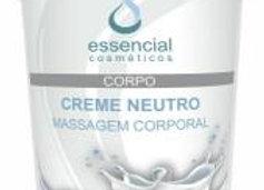 Creme neutro para massagem corporal - Essencial