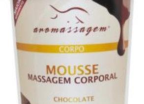 Creme de massagem corporal mousse de chocolate - Essencial