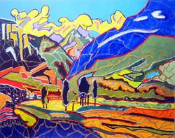Pyrenees Mountain View