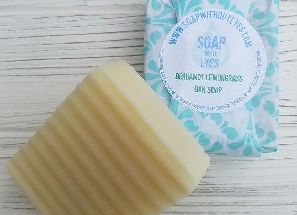 Bergamot Lemongrass Bar Soap (3 pack)