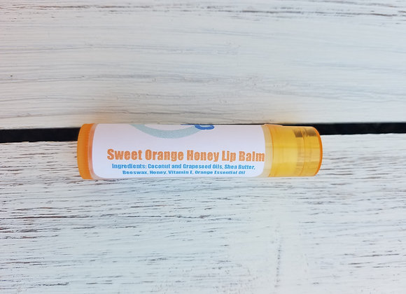 Sweet Orange Lip Balm (3 pack)