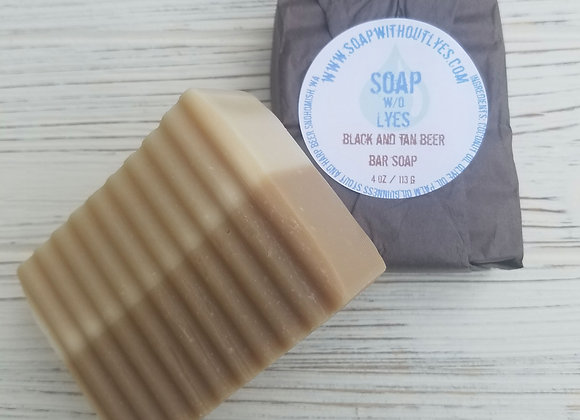 Black and Tan Guiness Bar Soap (3 pack)