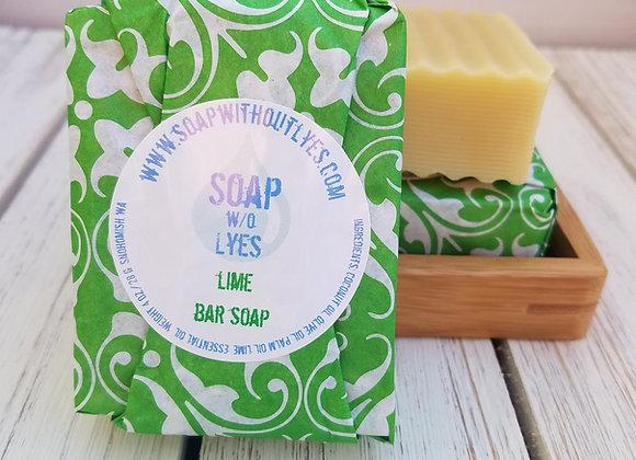 Lime Bar Soap (3 pack)