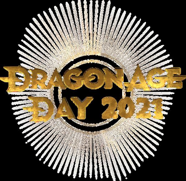 Dragon Age Day 2021 logo version 2 with transparent sunburst.png