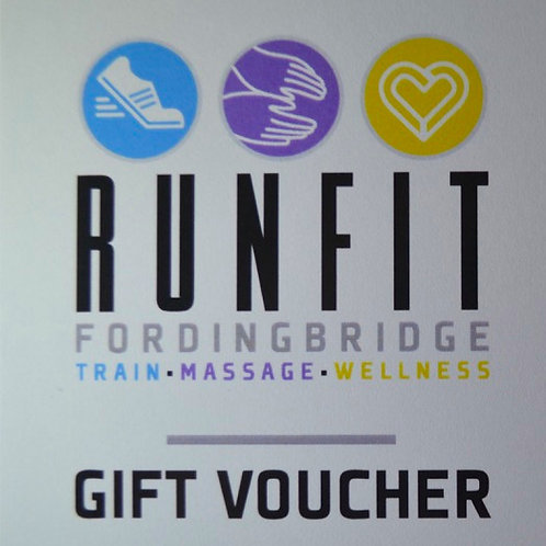 5 Personal Training sessions gift voucher