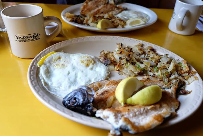 Fresh Trout Breakfast