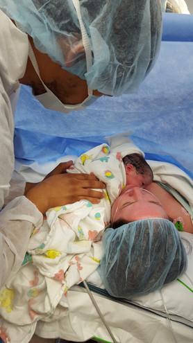 Planned cesarean