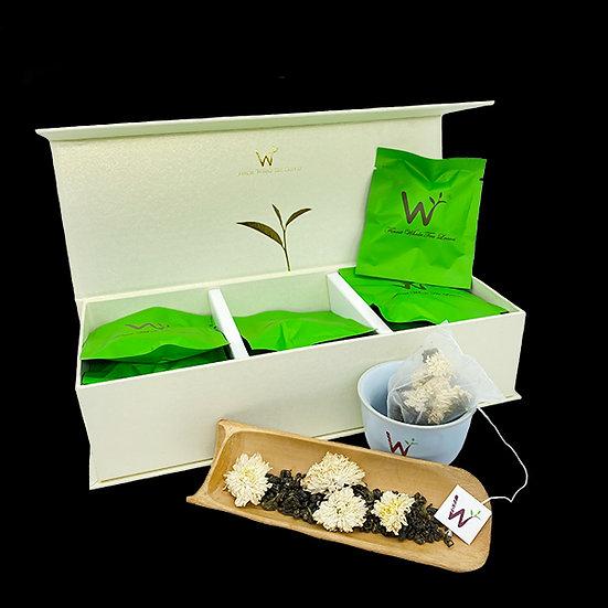 White Chrysanthemum Green Tea (白菊绿茶)