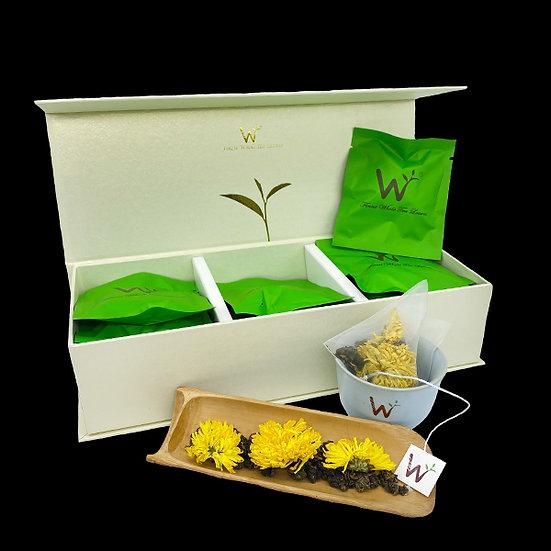 Chrysanthemum Oolong Tea (皇菊乌龙茶)