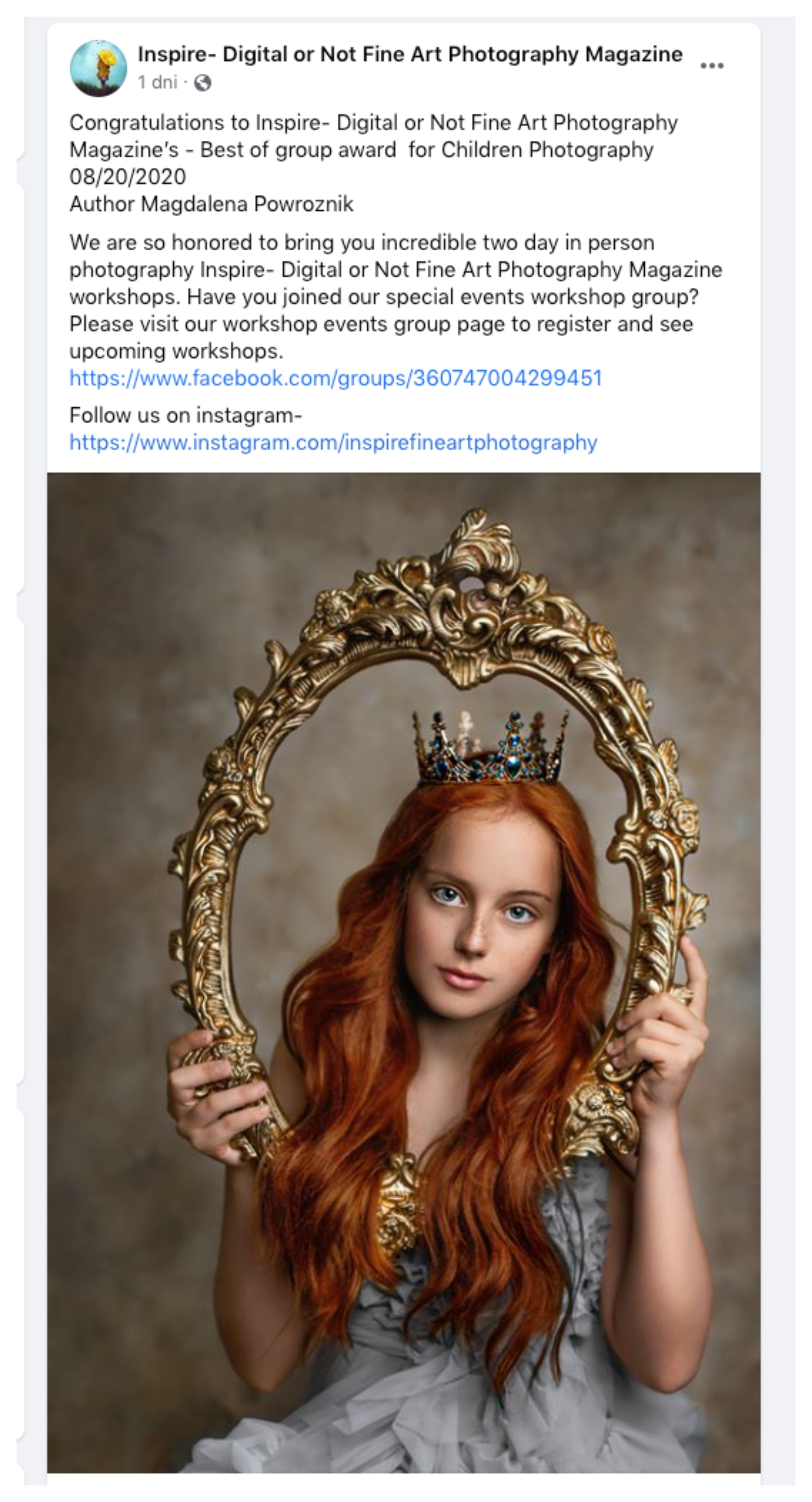 Inspire Digital Fine Art Magazine