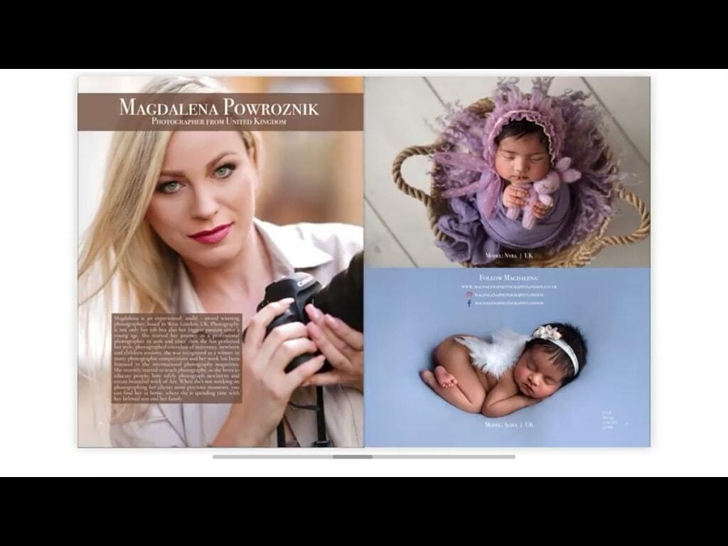 Lensational Magazine Publication