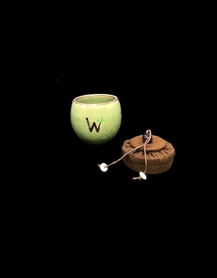 Mini Tea Cup Canister Jade(翡绿茶叶罐杯)