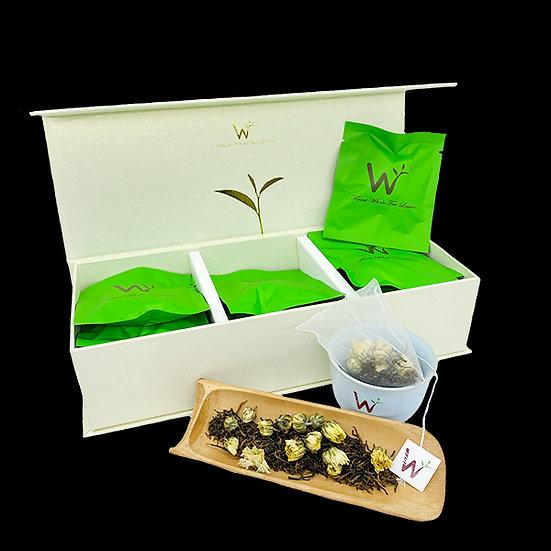 Baby Chrysanthemum Black Tea (胎菊红茶)