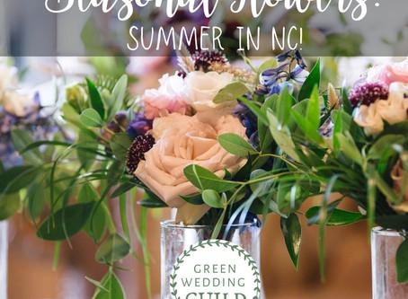 Seasonal Flowers: Summer in NC!