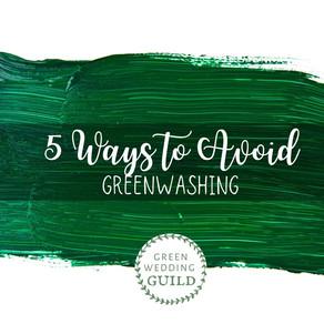 5 Ways to Avoid Greenwashing