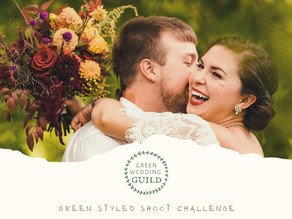 Magical Fall Wedding - Green Wedding Styled Shoot Challenge 2020