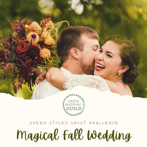 Magical Fall Wedding - Green Wedding Styled Shoot Challenge 2020