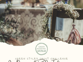 Whimsical Boho Elopement- Green Wedding Styled Shoot Challenge 2020