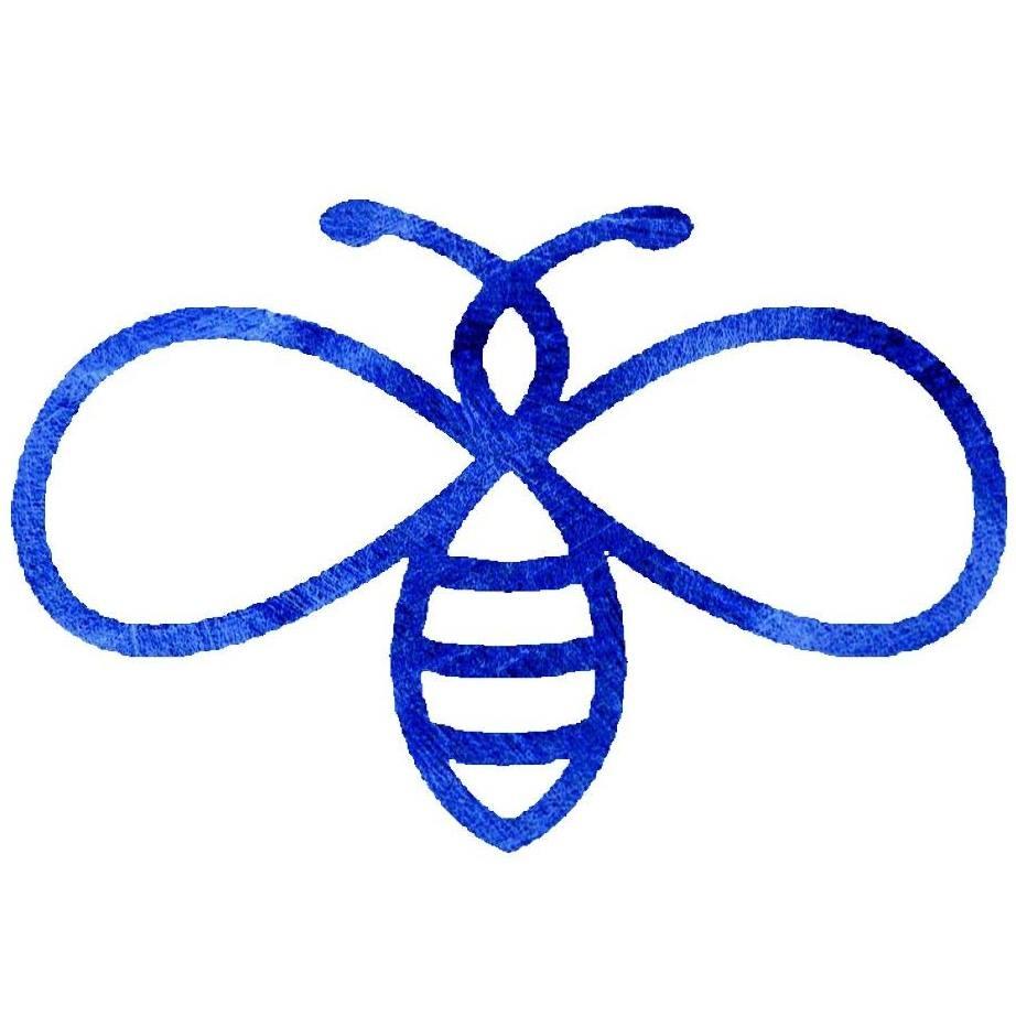 Blue Satin Bee