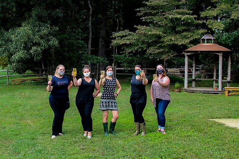 Green Wedding Guild founders and planners at the Fall 2020 Green Styled Shoot Challenge
