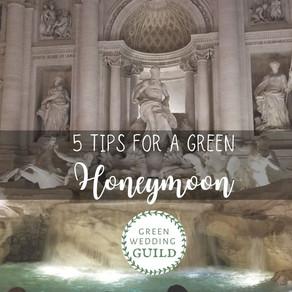 5 Tips for a Green Honeymoon
