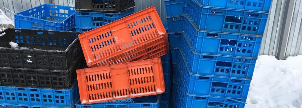 Ящики лом