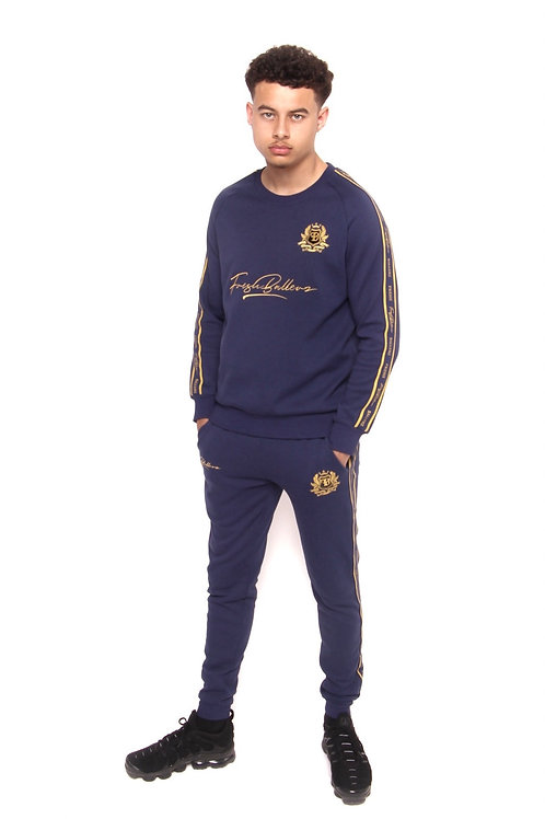 FB BLUE TRACKSUIT SET