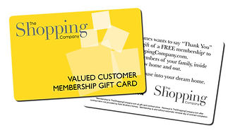 The Shopping Company Membership Card