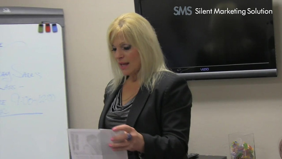 Nancy Pearce Encourages agent to use Silent Marketing Solution